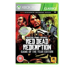 Red Dead Redemption GOTY Edition Xbox 360 - Compatible with Xbox One Family £11.99 @ Argos
