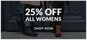 25% off everything on bellsshoes for a limited time only
