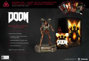 [Sealed] Doom 2016 Collectors Edition with Statue £40 CeX