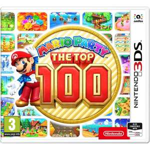 Mario Party The Top 100 (3DS) Pre-order £28.99 @365Games +£5.80 back in points!!!