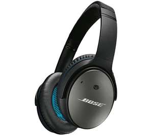 BOSE QuietComfort 25 Noise-Cancelling iPhone Headphones - Black only £159.00 @ currys