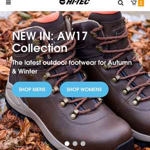 Hi-Tec offering 25% off all items online including sale items