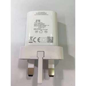 ZTE STC-A5930A-B (UK) QuickCharge 3.0 Charger, £1.38, Or £1.25 With Code @ Gearbest