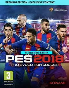 Pro Evolution Soccer 2018 (xbox)£24.99 online £25 instore new (£23.99 pre owned)@ grainger games