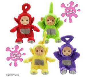Teletubbies Supersoft Collectibles £2.49 @ Argos