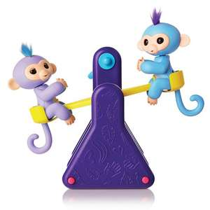 Fingerlings See Saw Playset With 2 Monkeys £39.99 @ Smyths