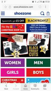 £5 off when you spend £25 or more online! - Shoe Zone