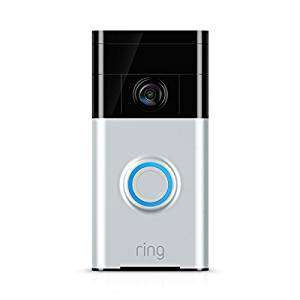 Ring Wi-Fi Enabled Video Doorbell - Satin Nickel  from £72.86 @ Amazon warehouse deals