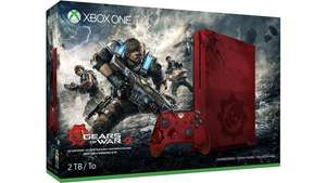 Xbox One S Gears of War 4 Limited Edition Bundle (2TB) £289.99 @ MSStore