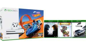 Xbox One S 1TB  – Forza Horizon 3 Hot Wheels + Halo 5 + Rare Replay + Forza 7 Motorsport + 1 Month Game Pass