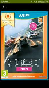 Fast Racing Neo Wii U. Download only,  Nintendo eshop £5.49