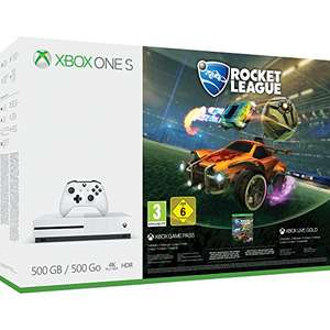 Xbox One S 500GB Console - Rocket League Blast-Off Bundle £169.99 @ Amazon