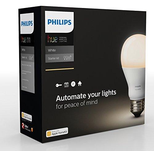 Philips Hue White Personal Wireless Lighting LED Starter Kit £49.99 @ Amazon