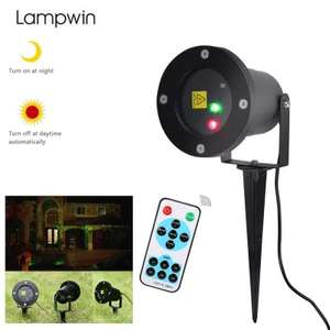 Outdoor RGB Dynamic Firefly Projector £13.57 @ Gearbest