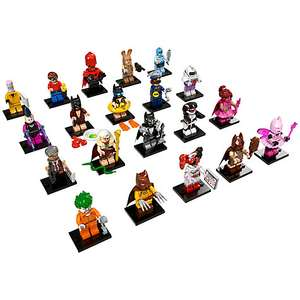 Lego Batman Movie Minifigures only 99p from John Lewis Online (+ £2 C+C or £3.50 Home Del) max 5 per order