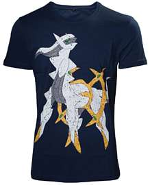 Pokemon Arceus Navy T-shirt - Large only £2.50 @ Game