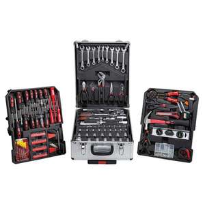Top Tech 186pc Tool Set With Silver Aluminium Storage Case £66.49 @ ECP