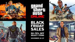 BLACK FRIDAY WEEKEND DISCOUNTS IN GTA ONLINE (NOV 24 – 27) @ rockstar games