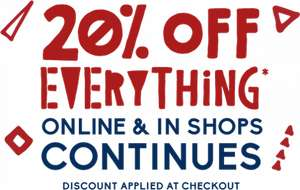 20% off everything @ White Stuff