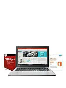 Decent budget laptop bundle from Very - Lenovo 310-15ISK, Intel® Core™ i3, 4Gb RAM, 1Tb Hard Drive, 15.6 inch Full HD Laptop includes McAfee Livesafe & Microsoft Office 365 Home - Silver £349.99
