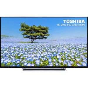 Toshiba 55U6763DB 55 Inch Smart LED 4K Ultra HD Freeview HD LED TVs 4 HDMI New £399.99 @ AO EBAY