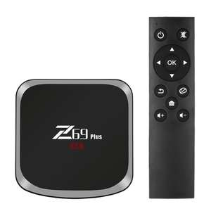 Z69 Plus Smart Android 7.1 TV Box Amlogic S912 3GB / 64GB EU Plug Octa-core 64 Bit VP9 H.265 UHD 4K HDR Mini PC 2.4G & 5G WiFi 1000M LAN Airplay Miracast Bluetooth 4.1 HD Media Player, (52% OFF) at £43.11, Ends in 4 days 22 hours 19 mins, at TomTop