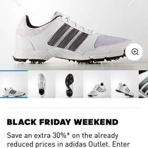 Adidas mens tech response golf shoes £19.57 delivered at adidas with code BlackFriday