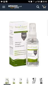 Perspi-Guard Maximum Strength Antiperspirant Spray - 50ml £7.59 (Prime) £11.58 (Non Prime) @ Amazon