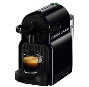 Nespresso Inissia Machine and Aeroccino with 150 capsules at Nespresso for £106.49 (£59.99 for Machine & Aeroccino) @ Nespresso