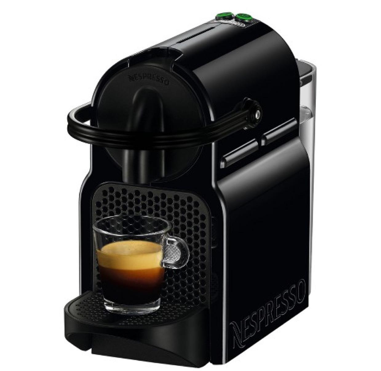 Nespresso Inissia Machine and Aeroccino with 150 capsules at Nespresso for £106.49 (£59.99 for Machine & Aeroccino) @ Nespresso