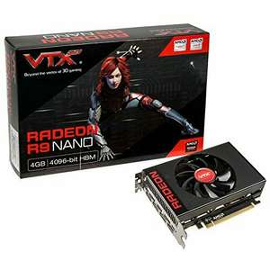 VTX3D Radeon R9 Nano, 4096 MB High Bandwidth Memory (HBM) at Amazon for £279.99 (Sold / dispatched by Vebox Direct Computing)
