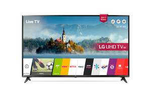LG 49UJ630V 49 Inch Smart Ultra HD 4K LED TV (2017 model) £399 @ rgbdirect