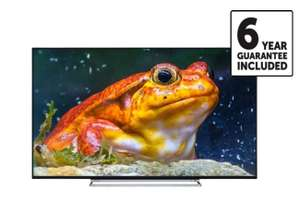 Toshiba 55 inch 4K Ultra HD Smart LED TV with Freeview Play - 6 Year Guarantee £399.99 @ Richer Sounds