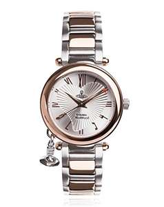 Vivienne Westwood womens orb watch £109 @ Amazon