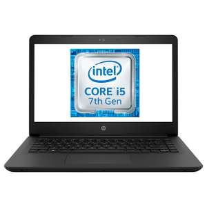 "HP 14-BP026NA Laptop, Intel Core i5, 8GB RAM, 128GB SSD, 14"", Black £389 @ John lewis"