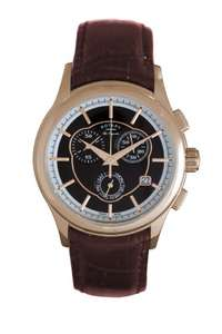 Rotary Men's Watch Brown Leather Strap for only £79.99! @ Amazon