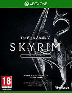 Skyrim Xbox One/PS4 £19.99 Amazon - Prime exclusive