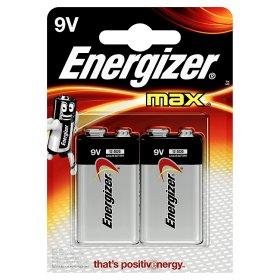 Energizer Max + Power Seal Alkaline 9V Batteries - £3.83 @ ASDA
