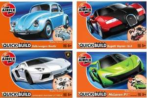 Airfix Quick Build Sets 4 different models all £7.99 with free Delivery (normally retail around £10-£12) @ Aldi Pre order now for dispatch 30 NOV