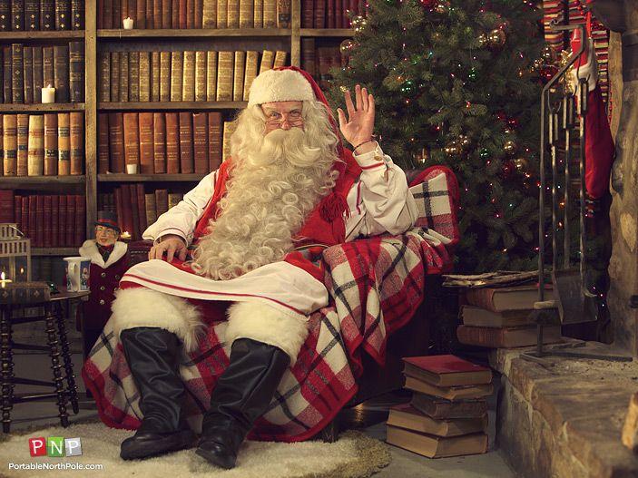 Portable North Pole PNP Santa Video message for Kids (or Big Kids)