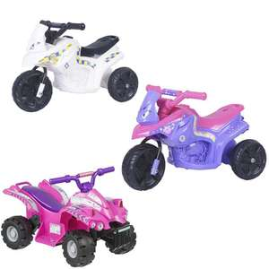 Police 6V Electric Ride On £30 / Fairy 6V Electric Ride On £30 / Evo 6V Electric Ride On £30  @ Tesco