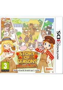 Story of Seasons: Trio of Towns for 3DS / 2DS £21.85 from Simply Games