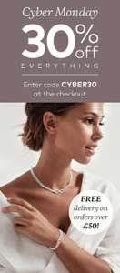 Silver by mail now cyber monday Enter code CYBER30 for 30% off everything