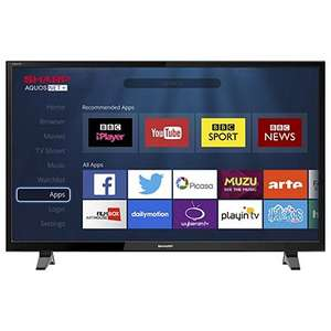 Sharp LC-40CFG3021KF 40 Inch Full HD LED Smart TV with Freeview Play £179 @ Tesco