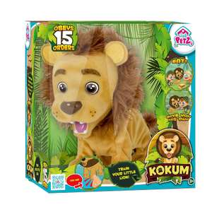 Kokum the interactive Lion £16.99 IN STORE @ The Range