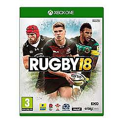 Rugby 18 Xbox one £16 @ Tesco