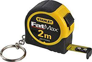 Stanley FatMax 2m Tape Measure £1 @ B&Q Free C&C