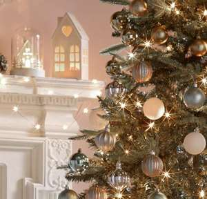 3 for 2 on most  Christmas trees, lights and decorations @ Argos