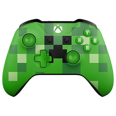 Microsoft Xbox Wireless Controller, Minecraft Creeper