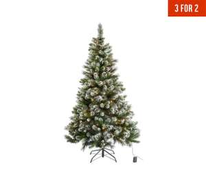 6ft prelit snow tipped Christmas tree at Argos for £74.99